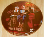 Collector Plate 1984 True Rockwell Classic Evening's Ease