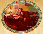 Collector Plate Young Man's Dream Norman Rockwell American Dream Ser