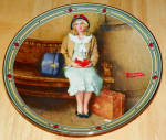 Collector Plate A Young Girl's Dream Norman Rockwell American Dream