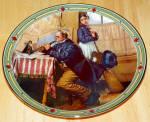 Collector Plate Musician's Magic Norman Rockwell American Dream