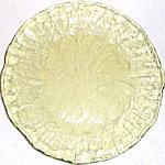 Morgantown Crinkle Topaz Dinner Plate