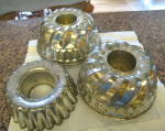 Vintage Collectible Tin Molds