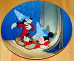 Disney Collector Plate Fantasia Series Dreams Of Power