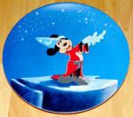 Disney Collector Plate Fantasia Series The Apprentice's Dream