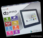 D2 Android Tablet 4gb 7 Inch D2-721g