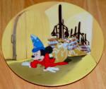 Disney Collector Plate Fantasia Series Wizardry Gone Wild No Coa