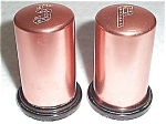Copper Salt And Pepper Shakers