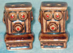 Antique Telephone Salt And Pepper Shakers