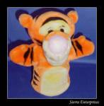 Plush Tigger Hand Puppet