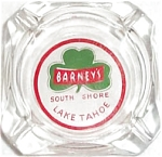 Barney's Lake Tahoe Ashtray