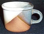 Pottery Craft Moonstone Plaid Mug
