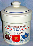 Treasure Craft Cook's Nook Tea Cannister