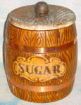 Treasure Craft Barrel Sugar Cannister