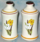 California Originals Crocus Salt And Pepper Shakers