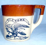 Holt Howard Victory Eagle Stoneware Mug