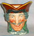 Royal Doulton Large Dick Turpin Character Jug