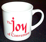 Pope John Paul Ii Joy Of Conversion Mug