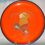 Orange Golfer Tray