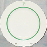 Bgcc Country Club Dinner Plate