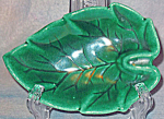 Green Leaf Ashtray