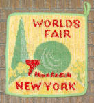 New York World Fair 1939 Potholder