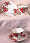 English Bone China Christmas Cups By Kent