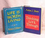 Think Life Through & Life Worth Living - Sheen