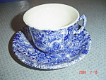 Laura Ashley Chintzware Cups And Saucers