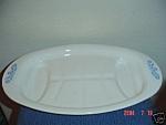 Corning Ware Cornflower Blue Meat Platter