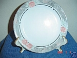 Corelle Silk And Roses Salad Plates
