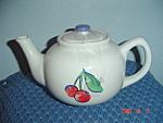 Corelle Fruit Basket/fruit Too Covered Tea Pot