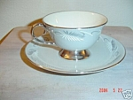 Flintridge Continental Grey Cups And Saucer Sets