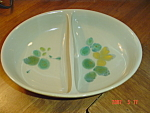 Franciscan Pebble Beach Divided Serving Bowl