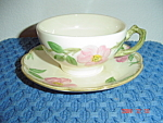 Franciscan Desert Rose Cup And Saucer - England