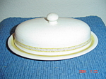Franciscan Hacienda Gold Covered Butter Dish