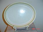 Franciscan Sierra Sand Oval Platter