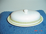 Franciscan Hacienda Green Butter Dish Bottom Only