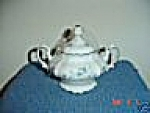 Johann Haviland Blue Garland Sugar Bowl - Bavaria