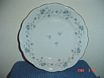 Johann Haviland Blue Garland Bread Plates - Bavaria