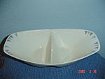 Iroquois Pyramids Divided Serving Bowl