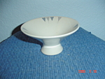 Iroquois Pyramids Pedestal Dessert Bowls