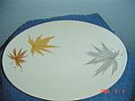 Iroquois Harvest Time Ben Seibel Large Oval Platter