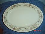 Lamberton Ivory Dorthea Oval Platter