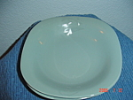 Mikasa Bergen Green Square Soup/cereal Bowls