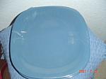 Mikasa Caribbean Blue Dinner Plates