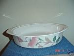 Mikasa Silk Flowers Baking Pan