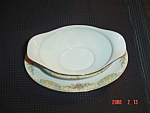 Noritake M Gravy Boat With Attached Tray