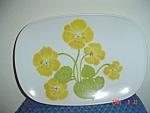 Noritake Progression Flower Time Oval Platter