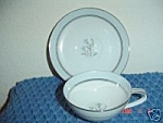 Noritake Bluebell Cups And Saucers