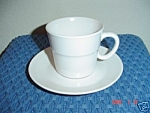 Noritake Progression Pearl White Saucers Only